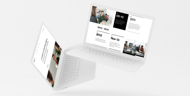 desktop design mockups